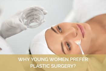 young women prefer plastic surgery in Richmond VA